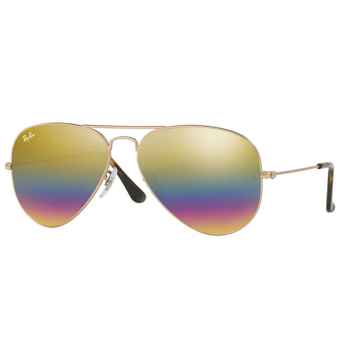 Aviator Mineral Flash Sunglasses
