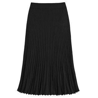 Women's Accordian Pleat Two-Tone Skirt