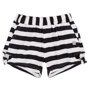 Girls' [3-6] So Safari Striped Jersey Short
