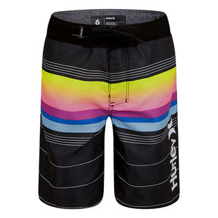 Boys' [4-7] Gradient Striped Boardshort