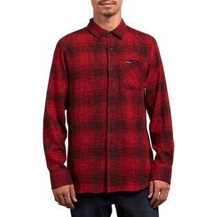 Men's Buffalo Glitch Flannel Shirt