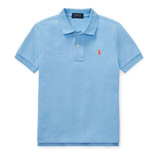 Boys' [5-7] Cotton Mesh Polo