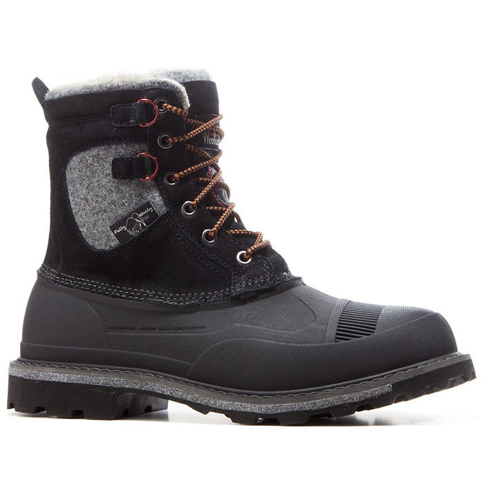 Men's Fully Wooly Lace-Up Boot