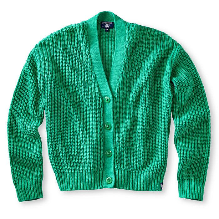Women's Knit Cotton Cardigan