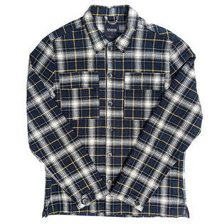 Men's Plaid Shirt Jacket