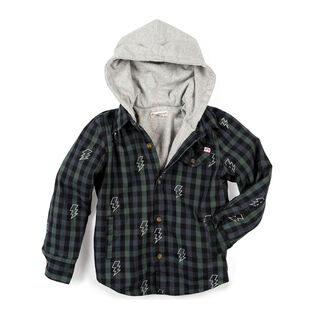 Boys' [2-10] Glen Hooded Shirt