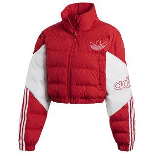 Women's Cropped Puffer Jacket