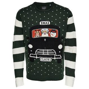 Men's Xmas Stripe Knit Sweater
