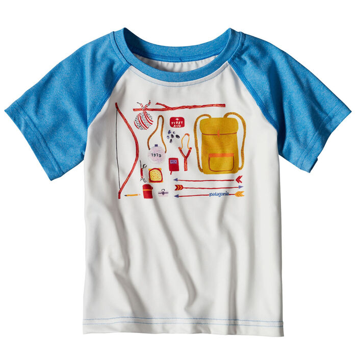 Babies' [3-18] Capilene® Silkweight T-Shirt