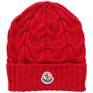 Juniors' Cable Knit Hat