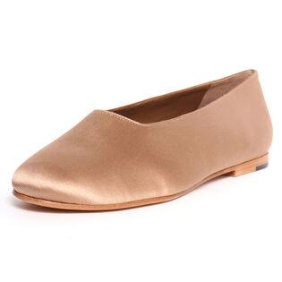 Chaussures Maxwell en satin à talon plat pour femmes
