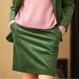 Women's Corduroy Mini Skirt