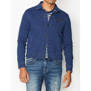 Men's Redrock Sweatshirt Trucker Jacket