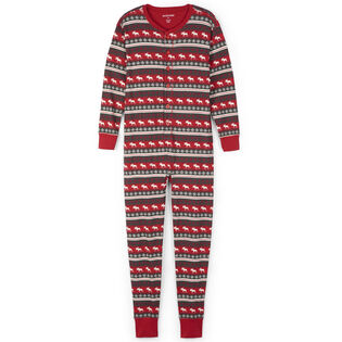 Unisex Fair Isle Moose Union Suit