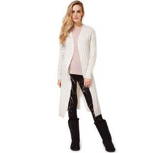 Cardigan long en tricot pour femmes