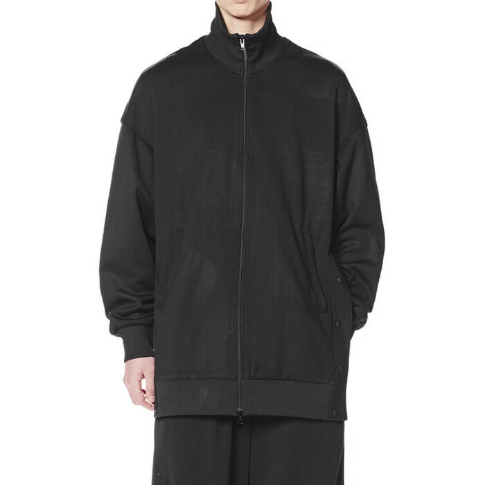 Men's 3-Stripes Matte Snap Track Jacket