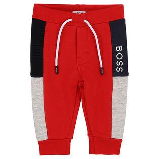Boys' [6M-3Y] Colourblocked Jogger Pant
