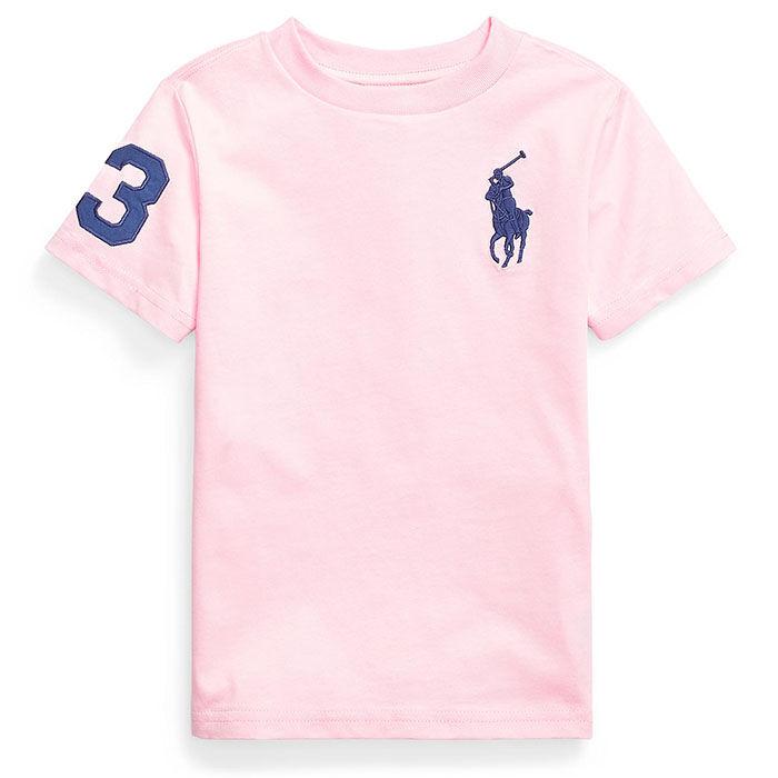 T-shirt Big Pony en jersey de coton pour garçons [5-7]