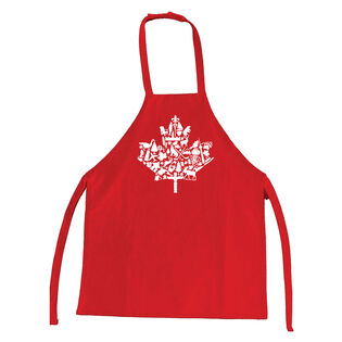 Kids' Canada Apron