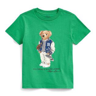T-shirt Polo Bear en coton pour garçons [2-4]