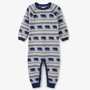 Baby Boys' [6-18M] Polar Bear Jumpsuit