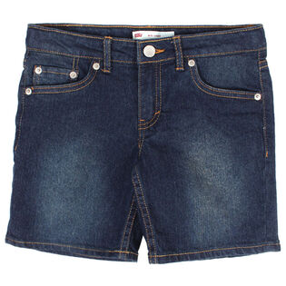 Junior Girls' [7-16] Midi Denim Short