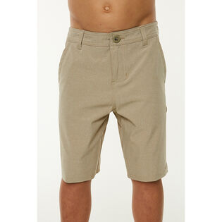 Junior Boys' [7-20] Loaded Heather Hybrid Short