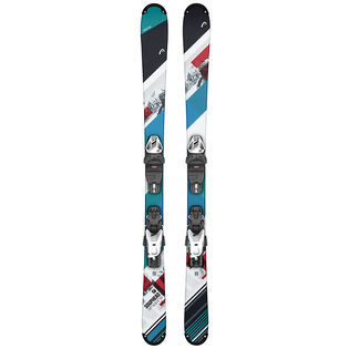Juniors' Souphead SLR Pro Ski + SLR 4.5 GW AC Jr. Binding [2020]