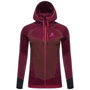 Women's Hooded Silhouette Fleece Jacket