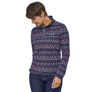 Women's Micro D® Snap-T® Fleece Pullover Sweater