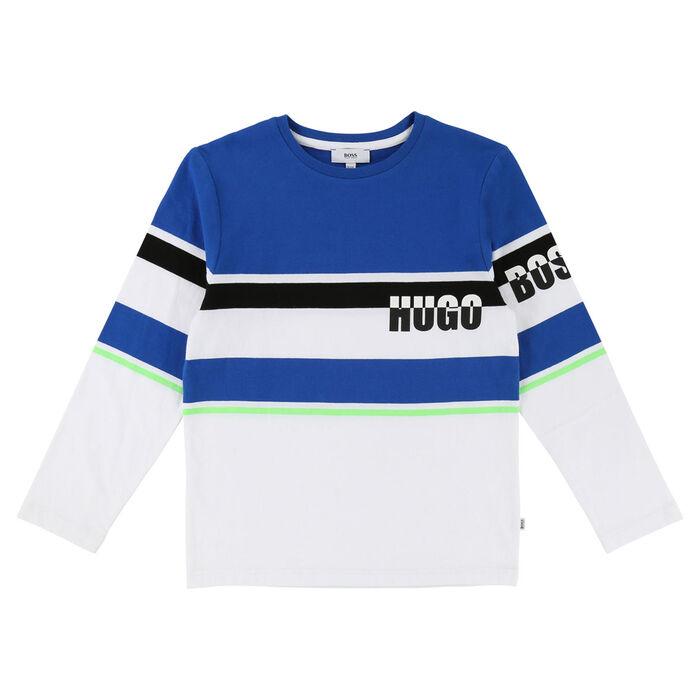 Junior Boys' [4-16] Multi Stripe T-Shirt