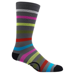 Men's Multi Stripe Crew Sock