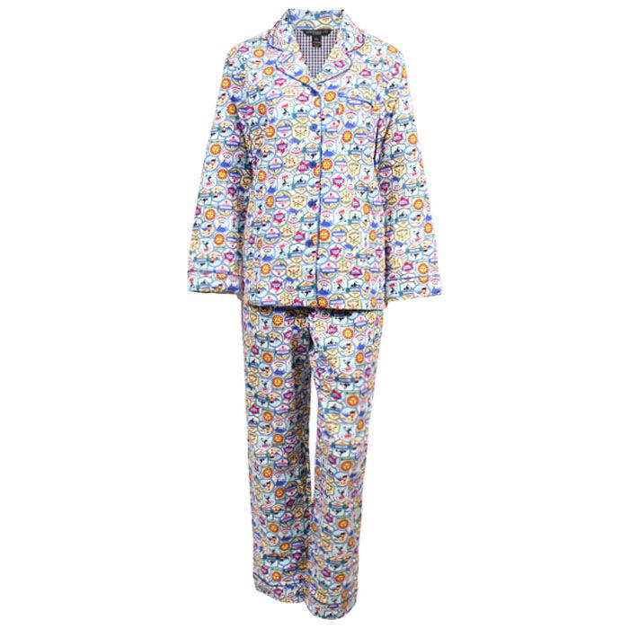 Ensemble pyjama deux pièces Holiday pour femmes