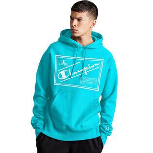 Men's Reverse Weave® Label Pullover Hoodie