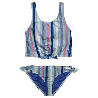 Junior Girls' [7-16] Patterned Two-Piece Tankini