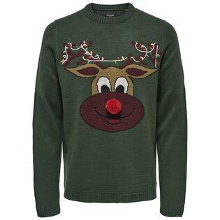 Men's Festive Knit Sweater