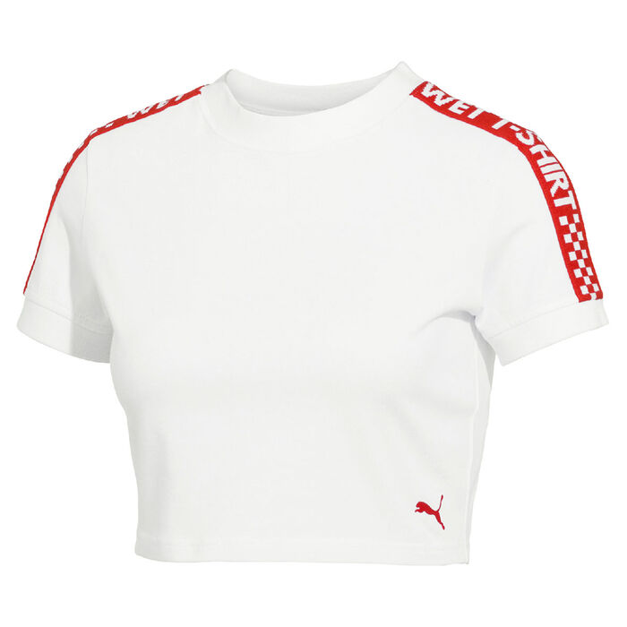Women's Short Sleeve Cropped T-Shirt
