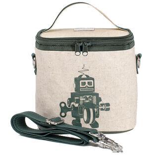 Grey Robot Small Cooler Bag