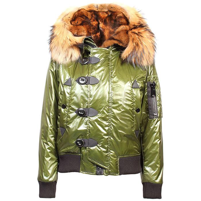 Manteau aviateur en duvet pour femmes