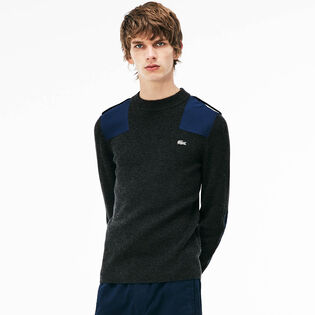 Men's Colourblock Crew Sweater