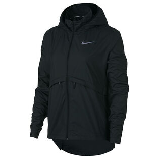 Women's Essential Hooded Running Jacket