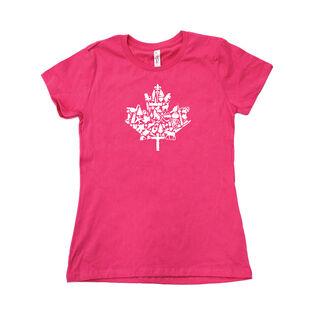 Women's Maple Canada T-Shirt