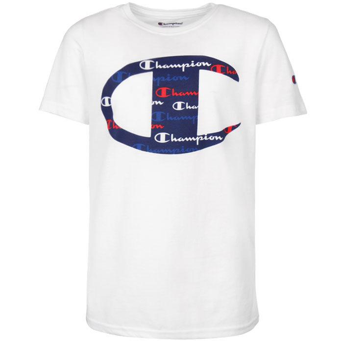 Junior Boys' [8-16] C Script Logo T-Shirt