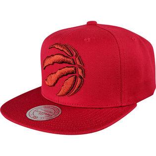 Men's Toronto Raptors Metallic Logo Snapback Hat