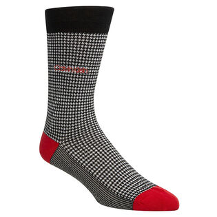 Men's Houndstooth Crew Sock