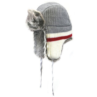 Work Sock Knit Aviator Hat