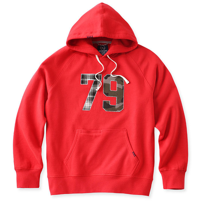 Men's Patches Pullover Hoodie