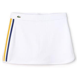 Women's Sport Contrast Tennis Skirt