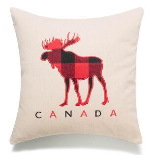 Celebrating Canada Moose Pillow