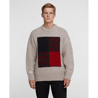 Men's Intarsia Buffalo Crew Sweater